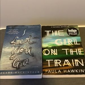 Other - Books: girl on the train, I let you go